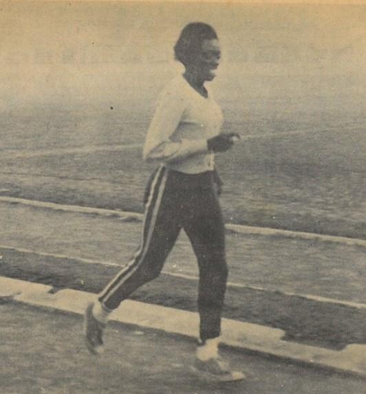 Maria Teresa Ferreira, vice-campeã mundial de atletismo