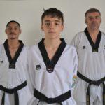 Guilherme Eleutério, Antonio Berto e Valter Berto Junior, equipe VJB Team