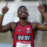 Erik Cardoso, velocista do Sesi-SP