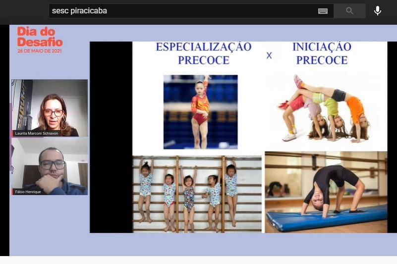Projeto Esporte Educacional - Palestra Laurita Schiavon