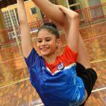 Nicole Pircio, atleta de ginástica rítmica da seleção brasileira