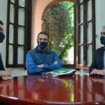 Ricardo Silva, Luciano Almeida e Hermes Balbinoo