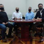 Reunião - Equipe Selam e deputado Alex de Madureira