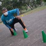 Abílio Cesar Bortoleto é o professor responsável pelas aulas de condicionamento físico da Selam