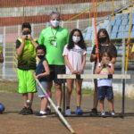 Aula de Atletismo do PDB - Pista Aparecida de Fátima Adão